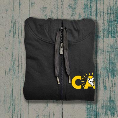 ADOPT Zipper (Charcoal Grey)