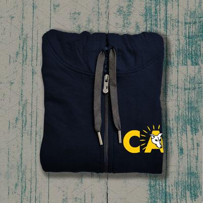 ADOPT Zipper (Navy Blue)