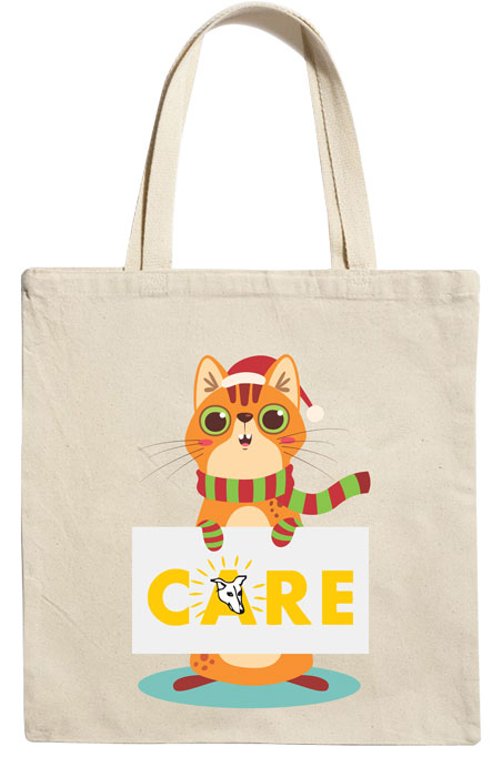 Mr. Mittens Tote Bag