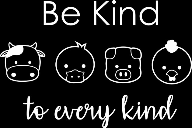 Be Kind To Every Kind Round Neck T-shirt