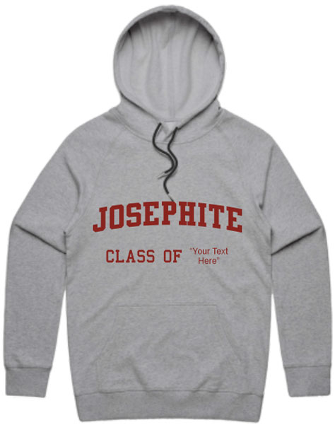 Josephite Hoodie With Customizable Class Year