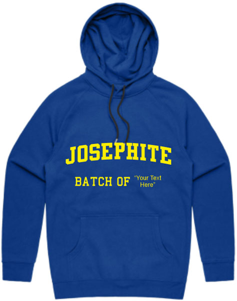 Josephite Hoodie With Customizable Batch Year