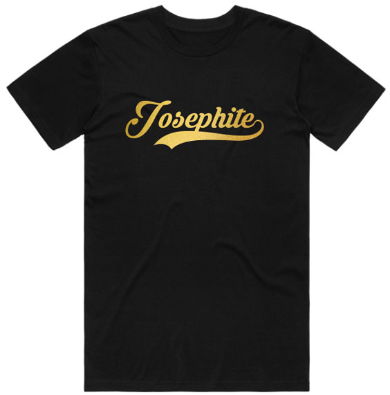 Josephite Round Neck T-Shirt Gold