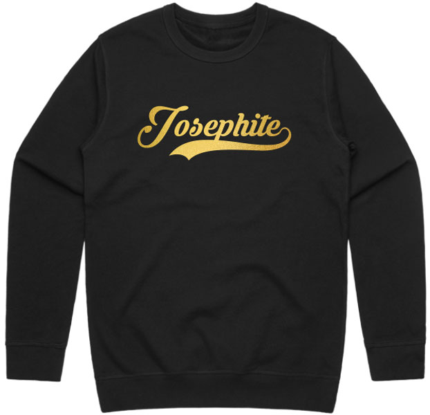 Josephite Sweatshirt Gold