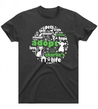 Adopt T-Shirt (Charcoal Grey)