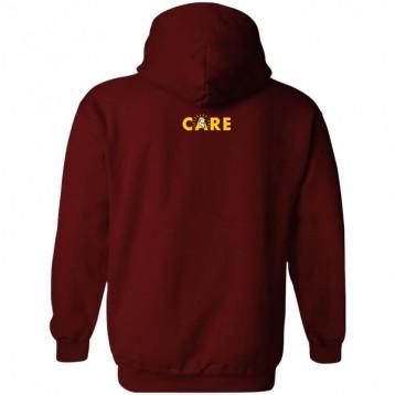 CARE Hoodie (Maroon)