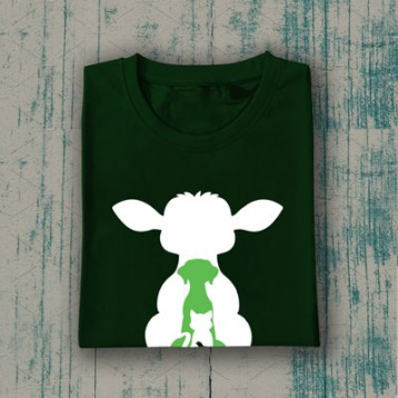 CARE T-Shirt (Bottle Green)