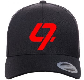 DJ Bravo47  Premium Cap With Embroidery  (Solid Black)