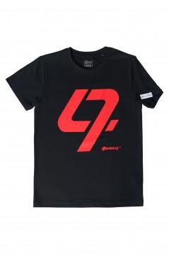 DJ Bravo47 47 Tee (Male Black and Red)