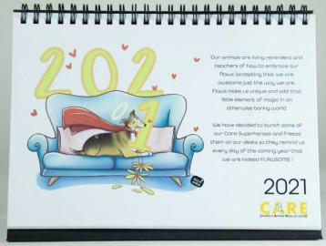 Flawsome CARE 2021 Calendar
