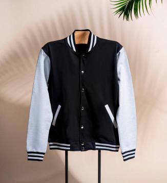 Pure Cotton Varsity Jacket